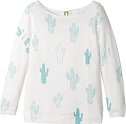 People's Project LA Kids - Cactus Slouchy Knit Top (Big Kids)