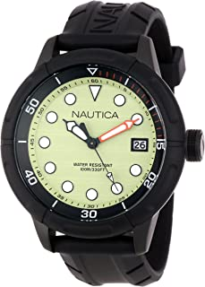 Nautica Unisex N17618G NMX 601 Classic Analog with Enamel Bezel Watch