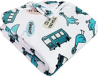 Berkshire Blanket VelvetLoft Plush Blanket Throw (50'' x 60'', Driving Pigeon)