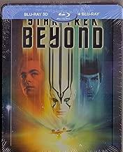 Star Trek Beyond Steelbook  Region Free English, Czech, Hungarian, Polish, Russian, Thai, Turkish