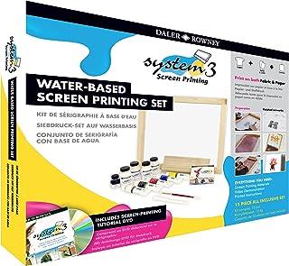 Daler Rowney System 3 Screen Printing Set by Daler Rowney