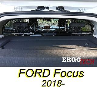 ERGOTECH Trennnetz Trenngitter für Ford Focus RDA65 HXXS16, für Hunde und Gepäck. Sicher, komfortabel für Ihren Hund, garantiert!