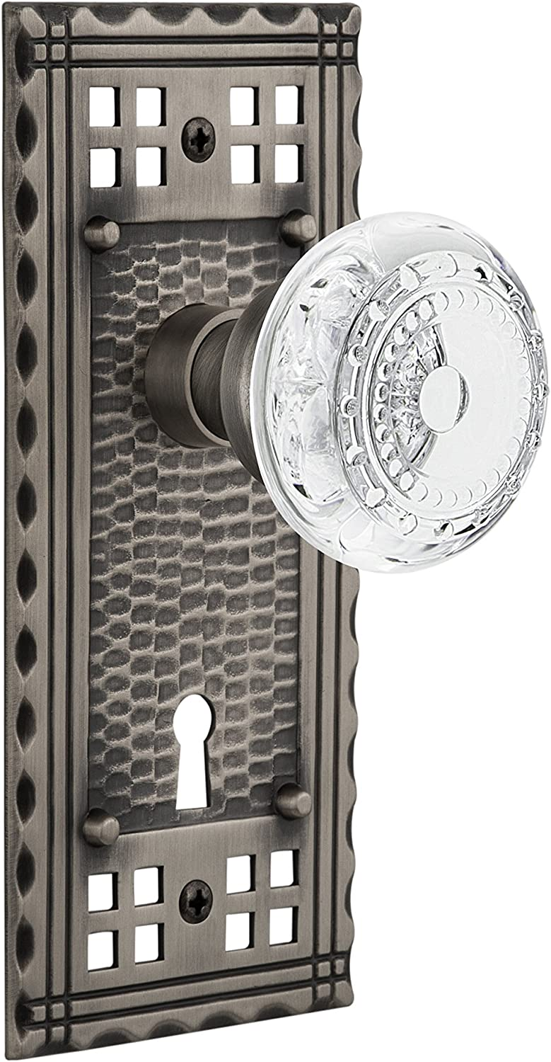 Nostalgic Warehouse 751844 2021 Craftsman Privacy with Cash special price Plate Keyhole