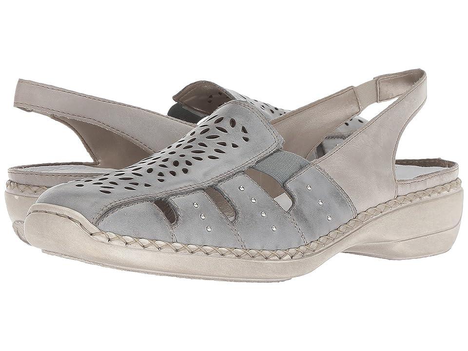 beadd16291f Rieker 41390 Doris 90 (Sky Ice) Women s Shoes