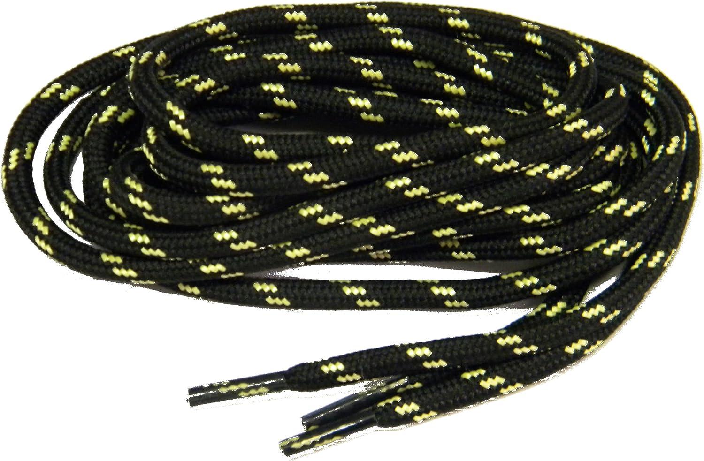 Sport28 102 Inch 259Cm Black W Natural ProTOUGHTM Wholesale case Packed Kevlar Reinforced Bootlaces shoeslaces
