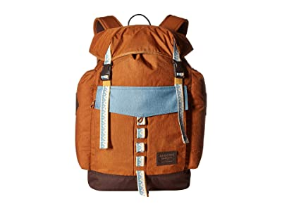 Burton Fathom Pack (Caramel Cafe Heather) Day Pack Bags