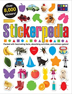 Stickerpedia: Packed with Fascinating Facts, Absorbing Activities and Over 8000 Stickers! (Sticker Activity Fun)