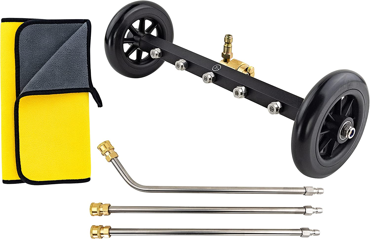 Max 89% OFF Undercarriage Pressure Washer Water Broom Clean free Inch 16 Surface