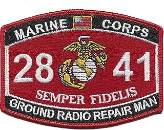 Marine Corps 2841 Ground Radio Repair Man MOS Patch 4.5