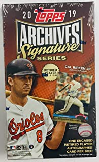 topps archives signature series retired