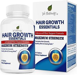 Hair Growth Essentials Supplement for Hair Loss - Advanced Hair Regrowth Treatment with 29 Powerful Hair Growth Vitamins &...