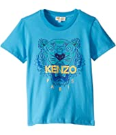 Kenzo Kids - Tiger Logo Tee (Toddler/Little Kids)
