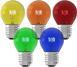 Calex Party Kogellamp pakket 240V 15W E27 5 kleuren