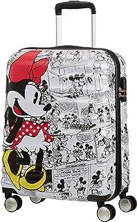 American Tourister Wavebreaker Bagaglio a Mano Disney, Comics Spinner S, Spinner S (55 cm - 36 L),Bianco (Minnie Comics Wh...
