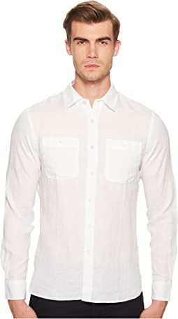 Linen Two-Pocket Shirt