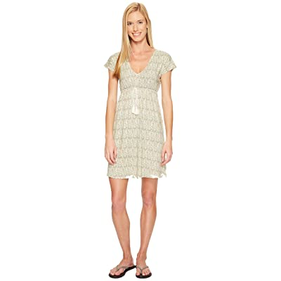 Carve Designs Vero Dress (Butter Lagoon) Women