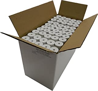 "Western Diazo 200 rolls Thermal Paper 2-1/4 x 50 ft, 1.25""/30mm diameter, CORELESS, BPA Free"