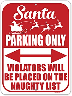 Best reindeer parking only sign Reviews