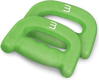 CAP Barbell Walking D-Dumbbells, Sold by Pair of 1 lb, 2 lb, 3 lb and 5 lbs