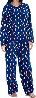 Unique Styles Winter Pajamas for Women Petite Button Up pj Sets Long Sleeve Pijama