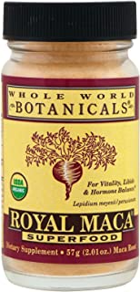 Whole World Botanicals, Maca Powder Organic, 2.01 Ounce