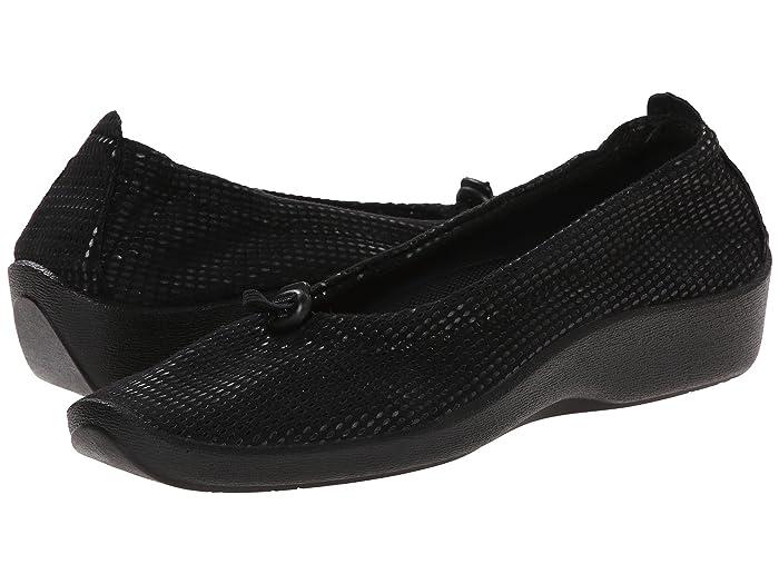 Arcopedico  L14 (Lagrimas Black) Womens Flat Shoes
