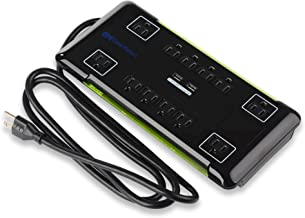 Cable Matters 12 Outlet Surge Protector Power Strip with USB Dual Port 2.1 Amp Charging