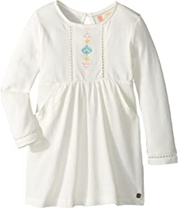 Roxy Kids Cookie Kiss Dress (Toddler/Little Kids/Big Kids)
