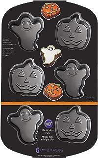 Wilton 2105-8961 Pumpkin Non-Stick Mini Ghost, Cake, Pan, One Size, Assorted