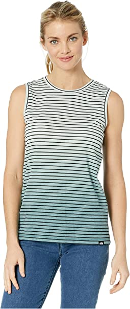 Striped Dip-Dye Tank Top