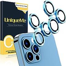 [2 Pack] UniqueMe Compatible with iPhone 12 Pro Max 6.7...