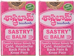 Sastry Balm Ayurvedic Painbalm (Pack of 2)- 12 GMS by Ture Facility
