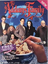 The Addams Family Cereal Box with Uncle Fester Flashlight