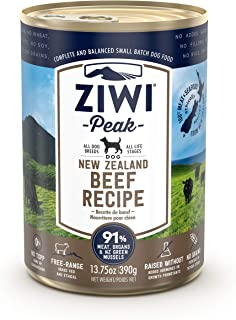 Ziwi Peak Grain-Free Canned Dog Food Recipe