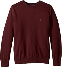 Solid Crew Neck Sweater