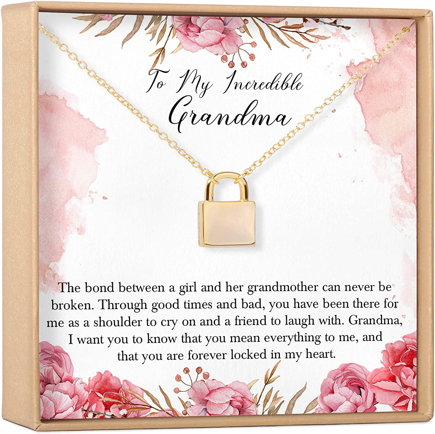Grandma Necklace: Gift Spring new work To Oakland Mall For New