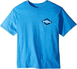 O'Neill Kids - Co Short Sleeve Tee Screens Imprint (Big Kids)