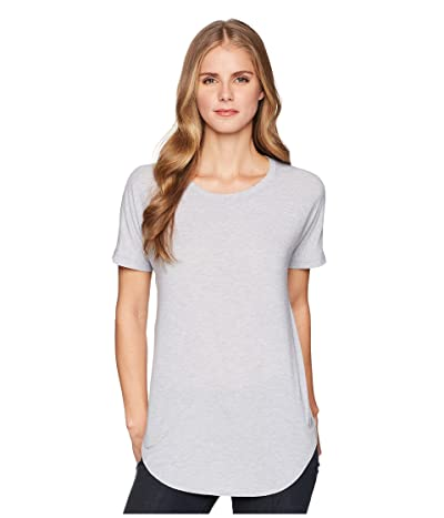 The North Face Workout Short Sleeve Tee (TNF Light Grey Heather) Women
