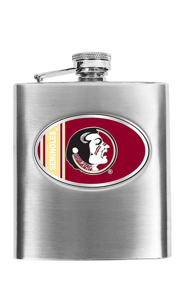 NCAA Hip Flask-8 oz