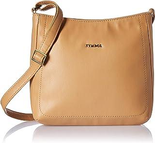 Amazon Brand - Symbol Women's Handbag (Beige)
