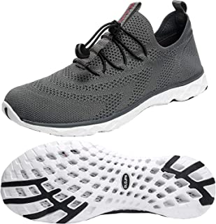 Men's Lightweight Quick Drying Aqua Water Shoes Athletic Sport Walking Shoes