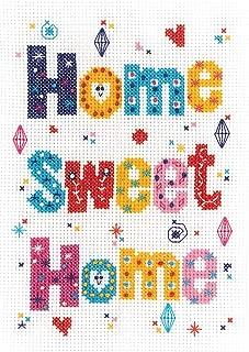 Janlynn Home Sweet Home Cross Stitch Supplies