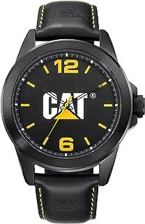 CAT WATCHES Men's YS14035131 Icon Analog Display Quartz Brown Watch