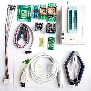 SETCTOP TL866Ⅱ Plus Programmer Kits USB EPROM Flash BIOS Programmable Logic Circuits 8 Adapters Socket Extractor