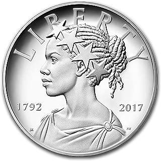 2017 P American Liberty Silver Medal Proof (w/Box & COA) 1 OZ Brilliant Uncirculated