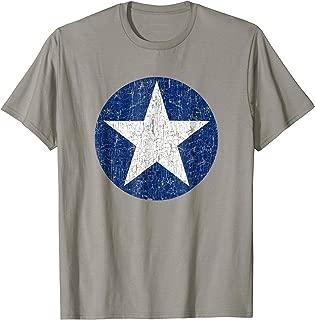 USAF Star Badge Pride T Shirt Gift US Air Force Future Pilot