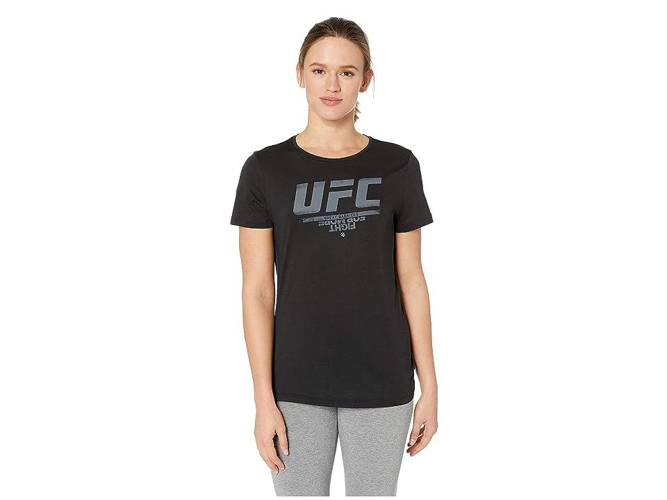 Reebok UFC Logo Tee (Black) Women