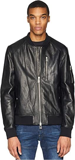 Clenshaw Tumbled Leather Jacket