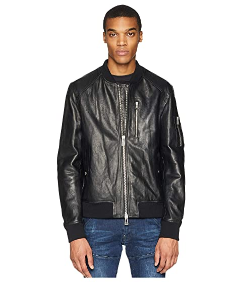 BELSTAFF Clenshaw Tumbled Leather Jacket