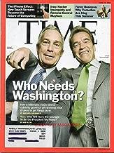 Time Magazine June 2007 MICHAEL BLOOMBERG & ARNOLD SCHWARZENEGGER IN COVER